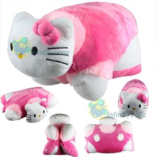 NEW Hello Kitty Transforming Pet Car Sofa Pillow Cushion Soft Plush