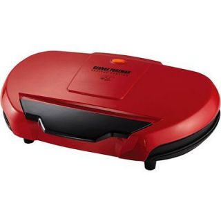 George Foreman 144 Red Grand Champ Indoor Kitchen BBQ Grill GR144 R