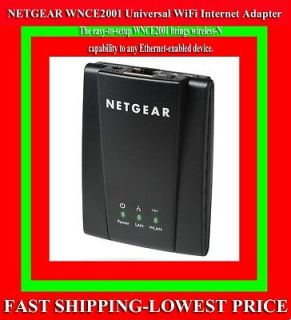 NetGear WNCE2001 Universal WIFI Adapter for HDTV Blu ray Player Game