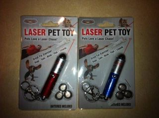 the Package Pet Toy Cat Dog Fish Lizard Bird Office Laser Pointer Red