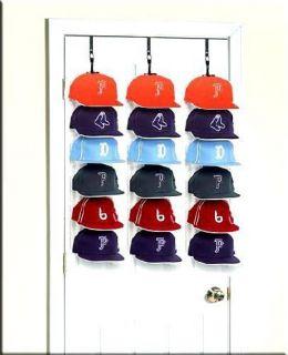 HOLIDAY GIFT PACK 6 Baseball Cap Rack (3 HAT RACKS )
