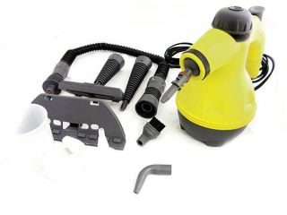Handheld Portable Steam Cleaner With 8 Attachments 1000 Watt New