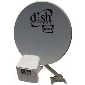 DISH Network Satellite 500 w/ DPP Twin Pro Plus LNB COMPLETE KIT