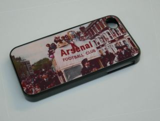 iphone 4 4s mobile phone hard case cover Arsenal 1971 Double Bus