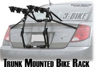 BIKE TRUNK MOUNT SUV CARRIER RACK CAR BICYCLE RACKS (BC 07518 3H)