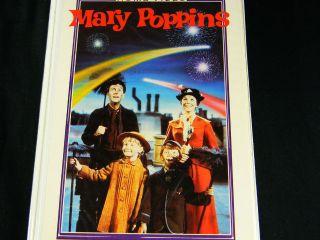 VHS Mary Poppins 23v Rare VHTF Vintage Disney White Clamshell