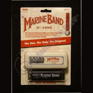 Hohner Marine Band 1896 Diatonic Harmonica Key of C