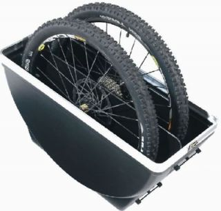 Wheel Bike Hard Plastic Travel Case, Dual Safe Shell
