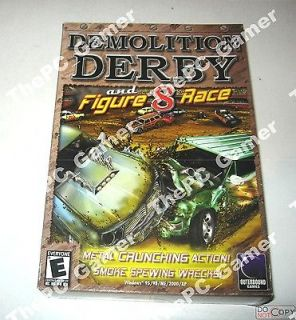 Demolition Derby and Fiture 8 Race PC Game
