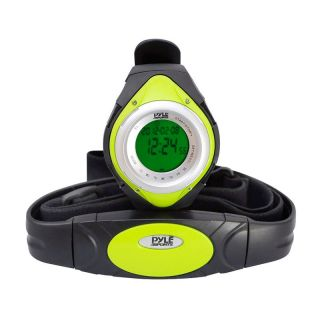 NEW PYLE PHRM38GR LED Heart Rate Monitor Sports Watch w/ Calorie