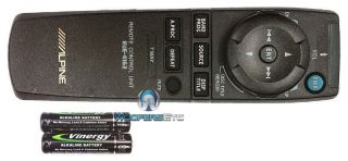 4162 ALPINE REMOTE CONTROL for certain CD DVD DOUBLE DIN TV CAR STEREO