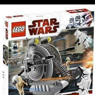 STAR WARS LEGO #7748 CORPORATE ALLIANCE TANK DROID snail tank clone