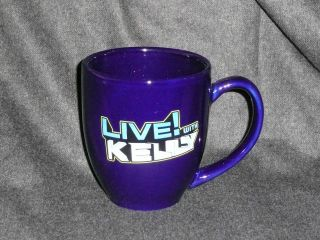 Live With Kelly ABC Studios Ceramic Coffee Mug Cup **Hard to Find