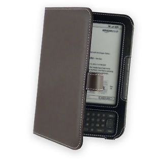 Cover Up Leather Book Case for  Kindle Keyboard