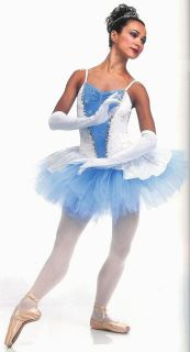 AURORA Princess Sleeping Beauty Cinderella Ballet Tutu Dance Costume
