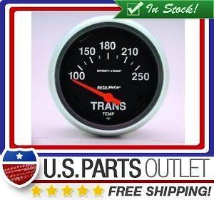 Auto Meter 3552 Sport Comp Electric Transmission Temperature Gauge