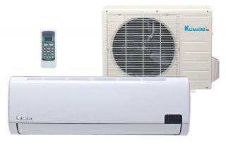 12,000 Btu Klimaire 19 SEER DC Inverter Ductless Mini split Heat Pump