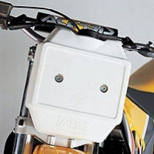 Acerbis Front Auxiliary Fuel Tanks 1.3 Gallon   White
