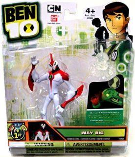 Ben 10 Ultimate Alien 4 Action Figure   Way Big Waybig   FACTORY NEW!