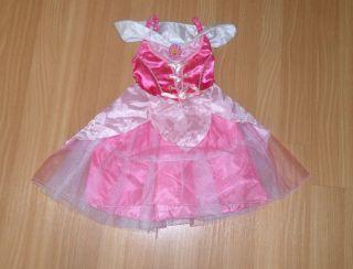 DISNEY PRINCESS AURORA SLEEPING BEAUTY DRESS UP COSTUME XXS 2/3 2T 3T