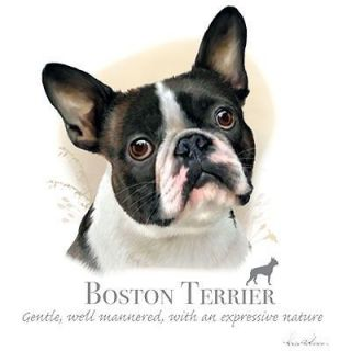 Boston Terrier Dog T Shirt New Graphics Womens New Colors Sizes M L XL