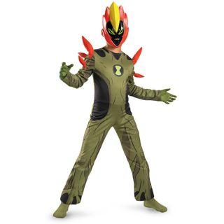 Ben 10 Swampfire Classic Child Costume Ben 10,alien