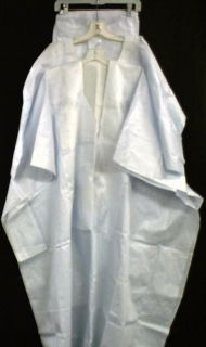 African Men Clothing Brocade Grand Bou Bou Pant Suit White NotCome L