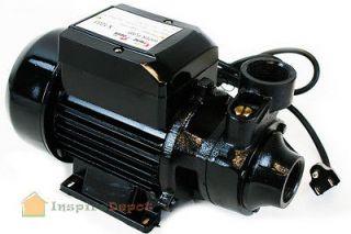 HP ELECTRIC WATER PUMP 1 1/2 POOL POND BIODIESEL Industrial