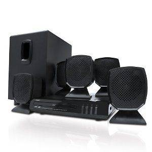 NEW 2012 Compact Coby 5.1 Channel DVD/CD Player Home Theater Speaker