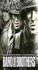 BAND OF BROTHERS ~ Complete Mini Series + Documentary (VHS 6 Tape Box