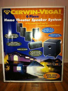 CERWIN VEGA AVS 632 AVS632 HOME THEATER SPEAKER SYSTEM NEW IN BOX NO