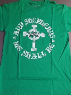 BOONDOCK SAINTS Cross Sheperds T Shirt **NEW tour concert band music