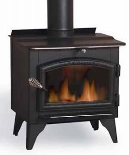 Defender Wood Burning Stove with Blower, EPA Extras  Free Shipping