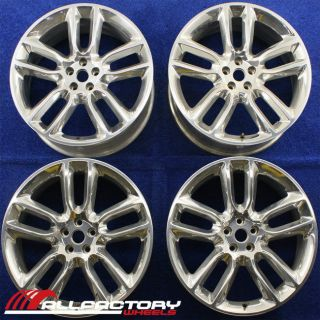 FORD EDGE LINCOLN MKX 22 2009 2010 OEM RIMS WHEELS SET OF FOUR 3783
