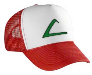 ASH KETCHUM POKEMON LEAGUE EXPO HAT CAP COSTUME EMBROIDERED HAT NEW