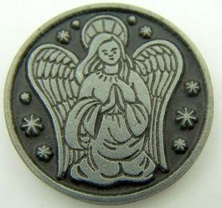 Guardian Angel Protection Caolic Devotion Prayer Coin Token Medal