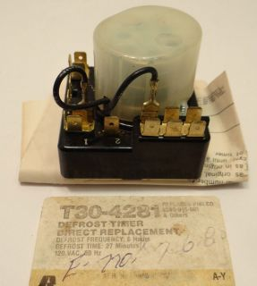 New Generic Ranco, Philco Refrigerator Defrost Timer T30 4281 With