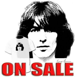 George Harrison T shirt John Lennon Paul Paul McCartney BEATLES