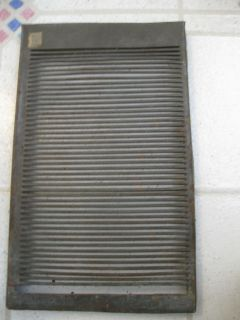 FURNACE VENT FLUE COVER TIN METAL PIPES DUCTWORK COVER Primitive
