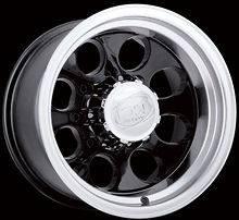 CPP ION 171 Wheels Rims 15x10, fits JEEP CJ CJ5 CJ7 DODGE RAM 1500