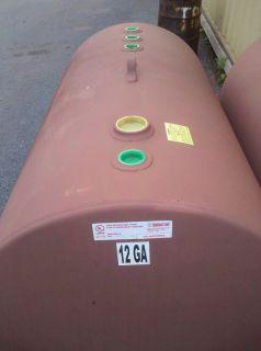 HIGHLAND TANK 500 gallon Aboveground Fuel Oil Tank BDH UL 142   New