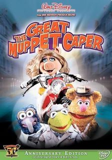 The Great Muppet Caper Anniversary Ed. DVD NEW OOP Diana Rigg Charles