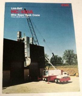 Link Belt 1977 HC 138 A Truck Crane Sales Brochure