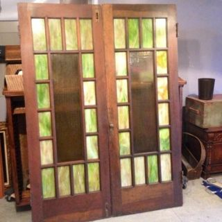 Interior french doors interior french doors leaded glass for Glass french doors