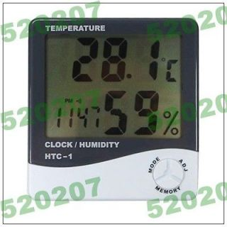 Newly listed LCD Digital Clock Thermometer and Humidity Meter E471