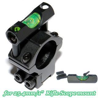 scope spirit level for 25.4mm/1 rifle scopes laser mount holder rings