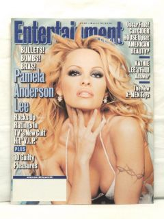 March 10, Entertainment Weekly Mag  Pamela Anderson Lee