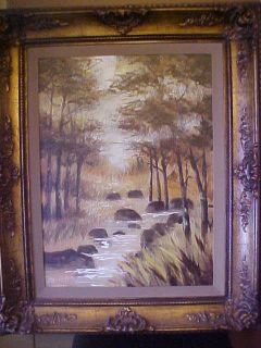 LEE REYNOLDS ORIGINAL OIL ON CANVAS  SIGNED 27 3/4X34