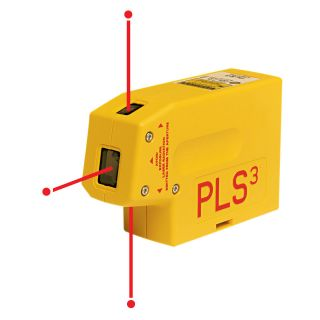PLS3 Self Leveling Plumb Laser Beam Level NEW