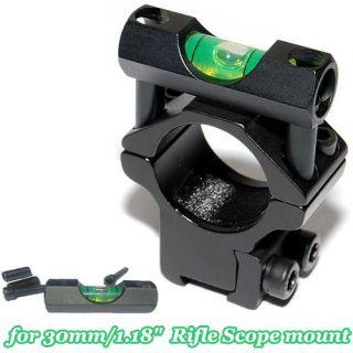 scope spirit level for 30mm/1.18 rifle scopes laser mount holder